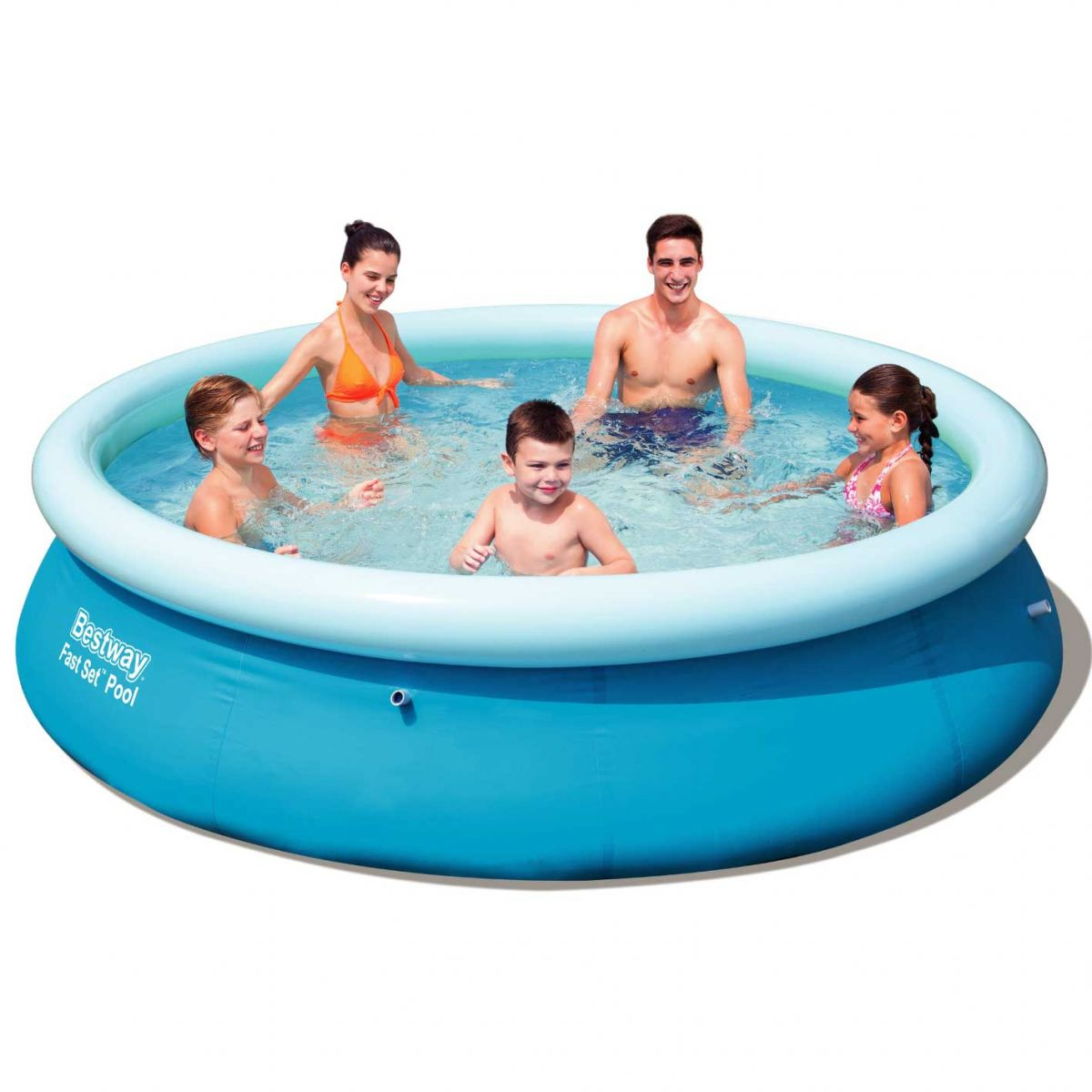 piscina fuoriterra rotonda steel pro bestway 56415 cm 366