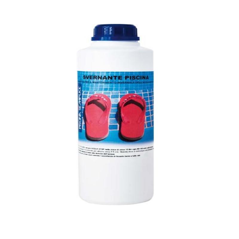 Prodotto per trattamento svernante piscine