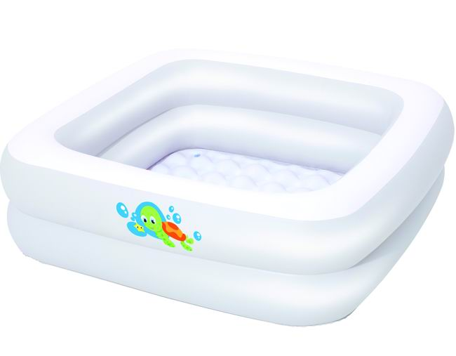Piscina fuoriterra bagnetto quadrata baby tub bestway cm for Bestway italia piscine