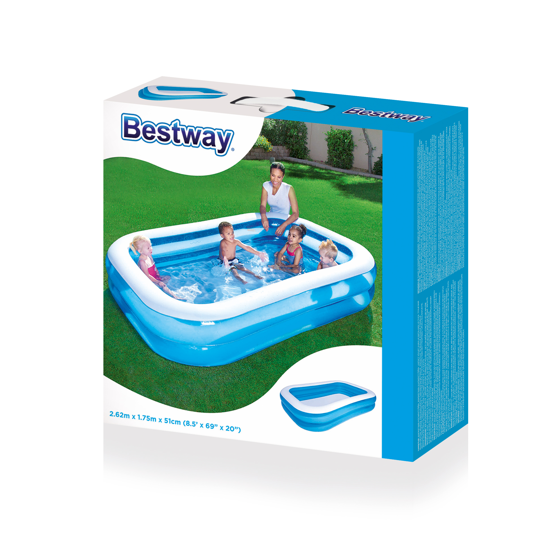 piscina gonfiabile rettangolare bestway 54006b