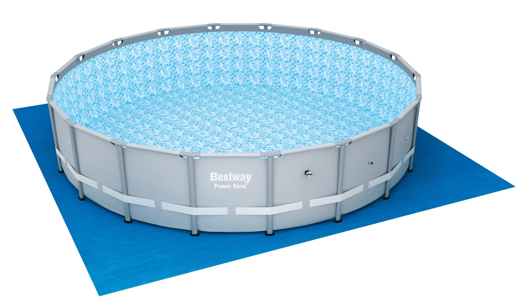 Piscina fuori terra rotonda bestway 56464 cm 549 x 132 for Accessori piscine fuori terra bestway