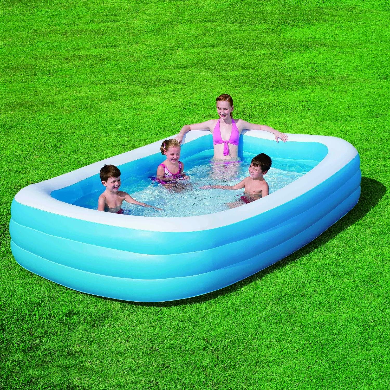 piscina gonfiabile rettangolare bestway 54009 cm 305 x