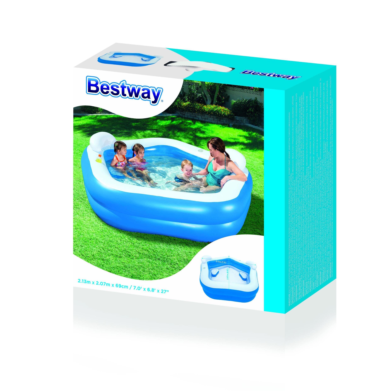 Piscina gonfiabile family bestway 54153 ferramenta for Bestway italia piscine