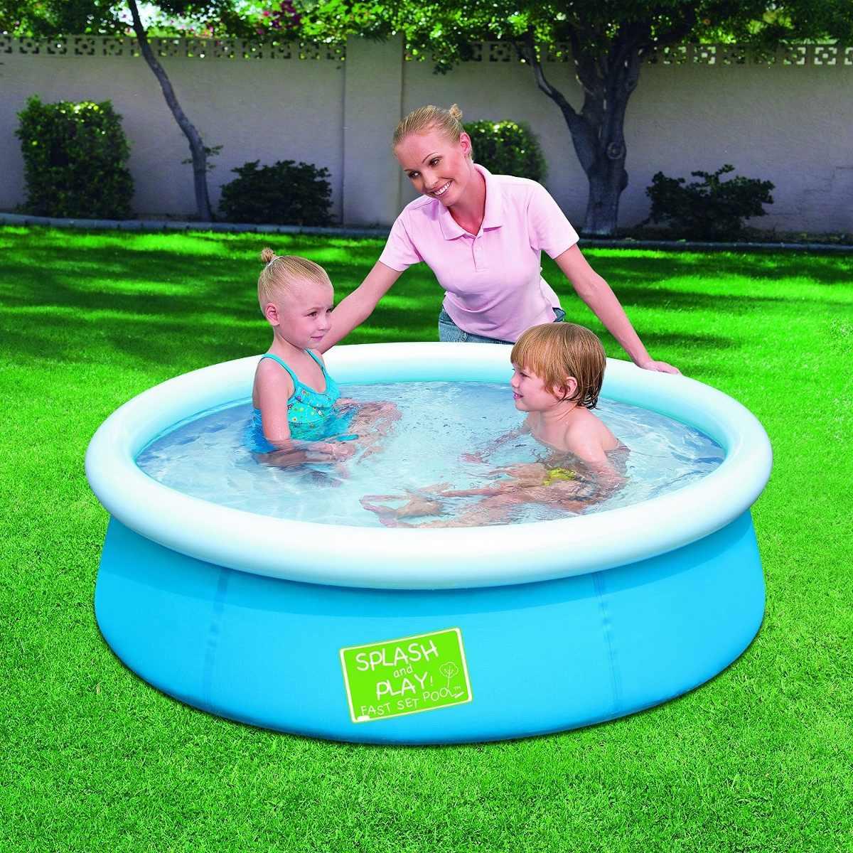 Piscina fuori terra rotonda autoportante bestway 57241 cm for Bestway italia piscine