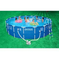 Piscina rotonda Intex 28252 IN USO