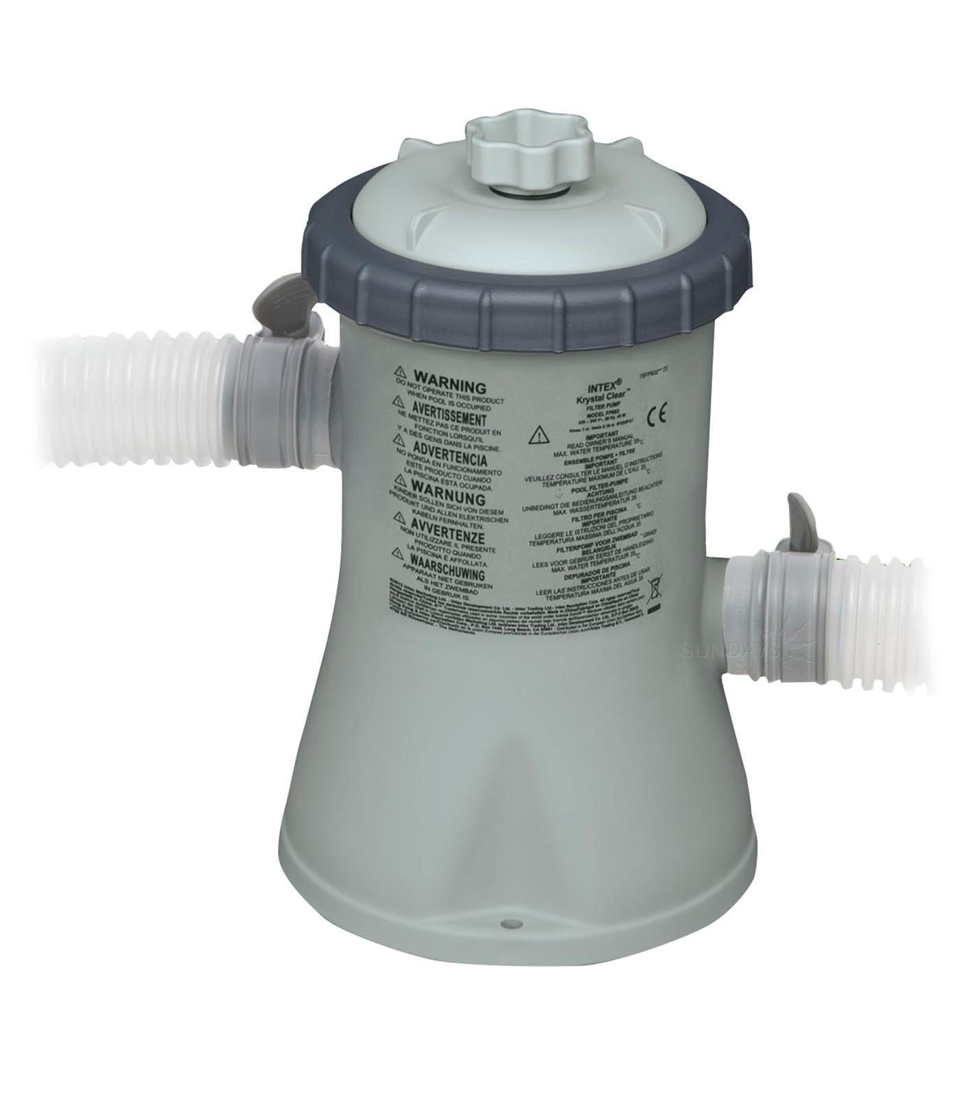 Pompa filtro a cartuccia intex 28602 ferramenta centro italia - Pompa piscina intex ...