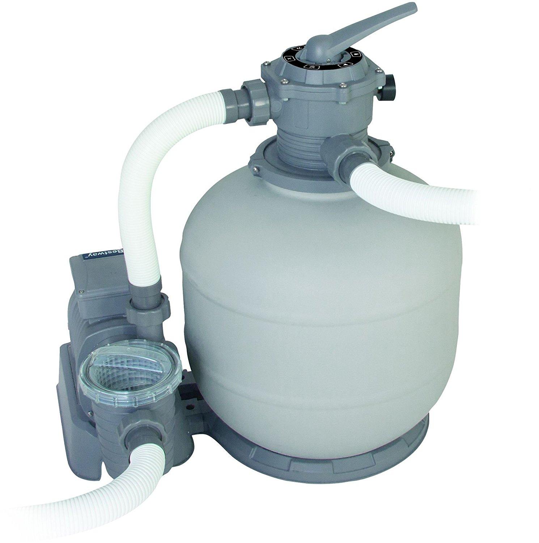 Pompa filtro a sabbia bestway 58366 ferramenta centro italia for Piscine fuori terra con pompa a sabbia