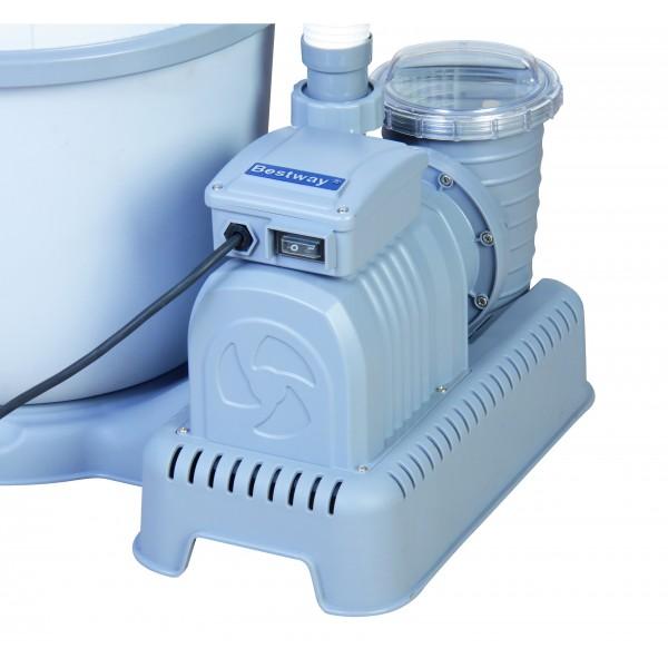 pompa filtro a sabbia bestway 58404 l h 5678 ferramenta