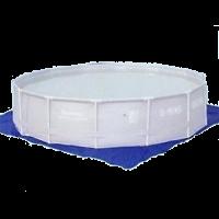 Teli inferiori per piscine rettangolare telo di protezione per piscina