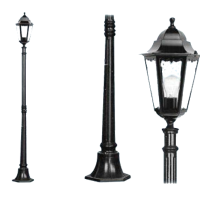 lampioni new york  luce su palo