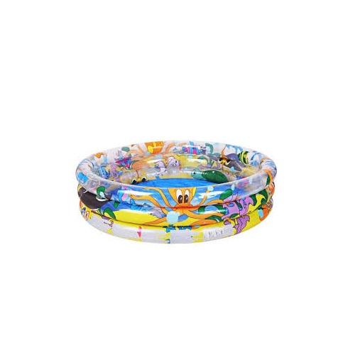 Piscina gonfiabile rotonda tre anelli bestway 51008b cm for Bestway italia piscine
