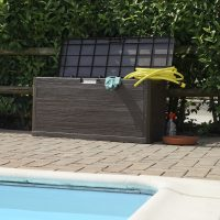 Baule multiuso woody's toomax bordo piscina