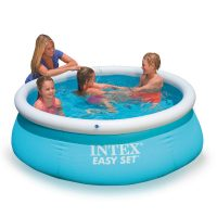Piscina easy set 28101 autoportante in uso