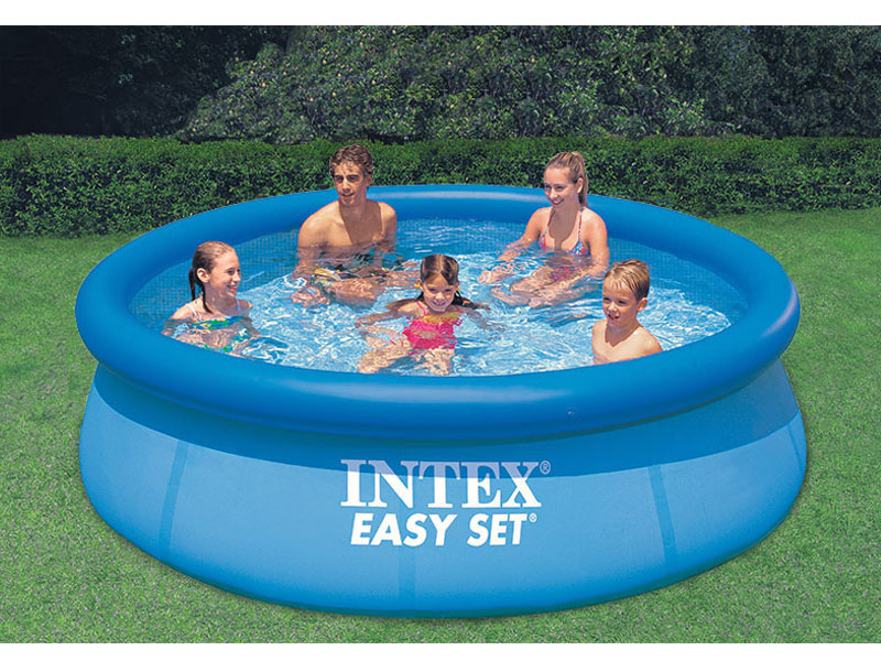 piscina gonfiabile intex easy set 28120 cm 305 x 76. Black Bedroom Furniture Sets. Home Design Ideas