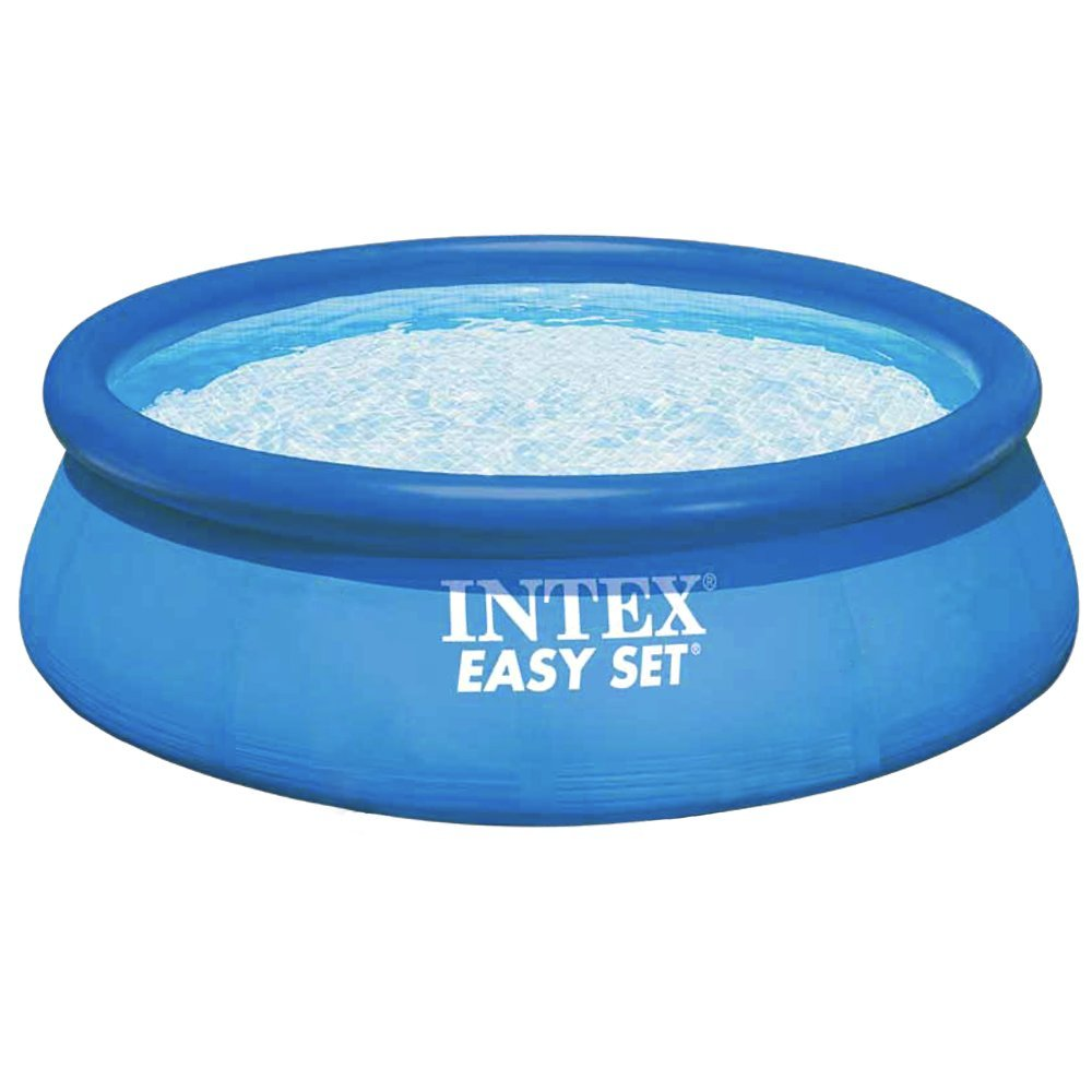 Piscina fuori terra intex easy set 28132 cm 366 x 76 for Addobbi piscina