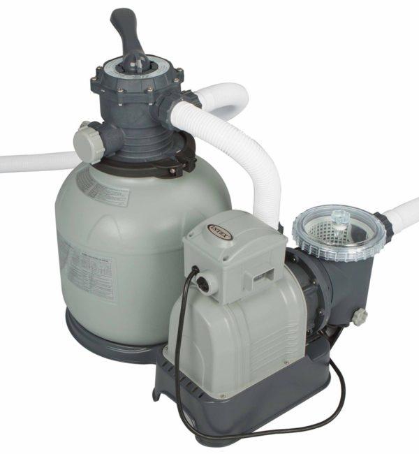Piscina fuoriterra rettangolare Intex 28372 pompa filtro