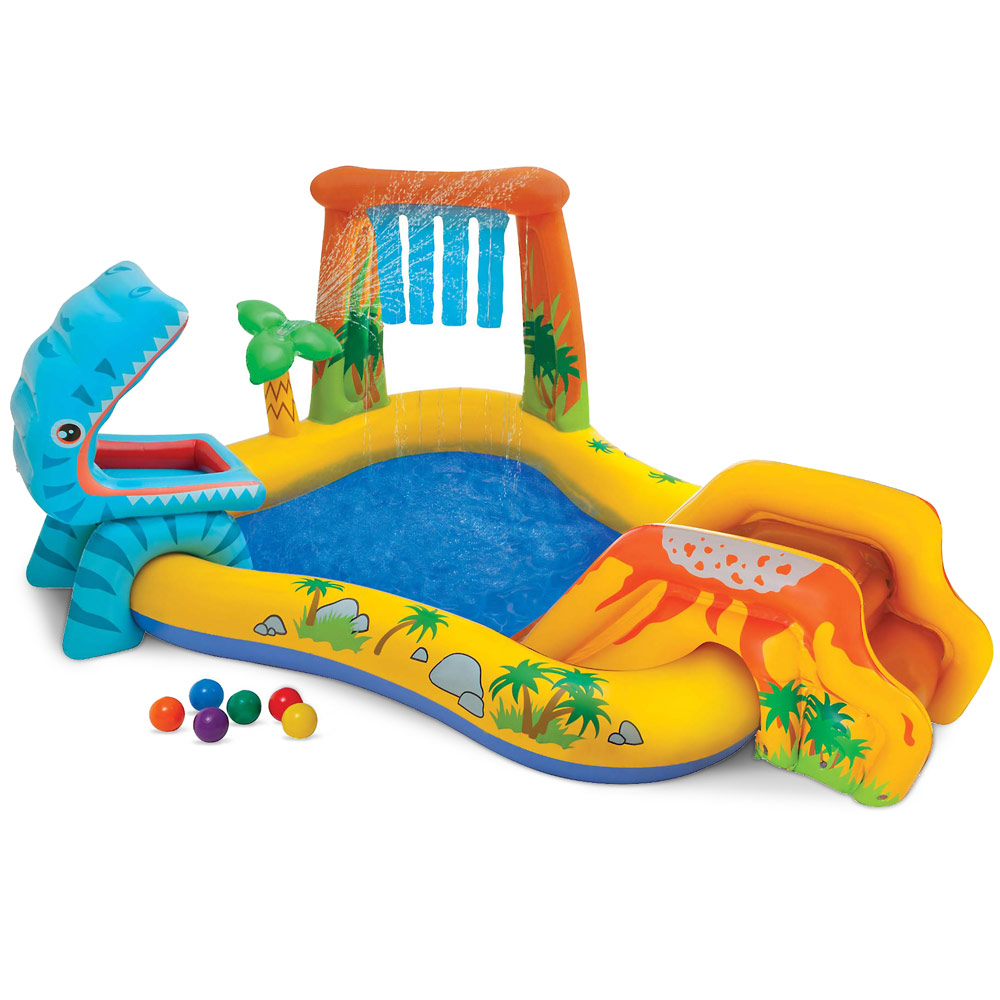 Piscina gonfiabile Dinosaur Play Center Intex 57444