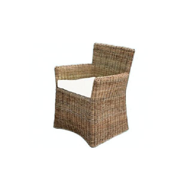 Poltrona sedia Siam in rattan