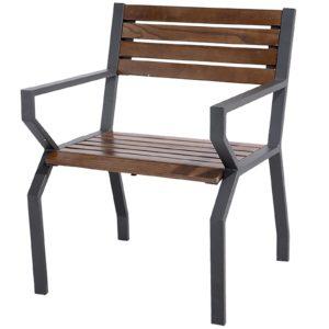 Sedie in metallo ferramenta centro italia for Arredo giardino in metallo