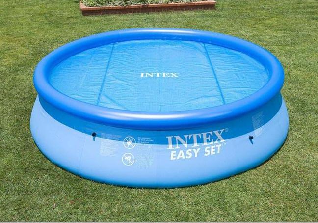 Telo termico solare per piscine tonde cm 366 ferramenta for Accessori per piscine intex