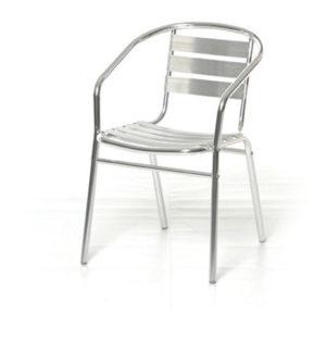 Sedia in alluminio bar alu ferramenta centro italia for Sedie in alluminio