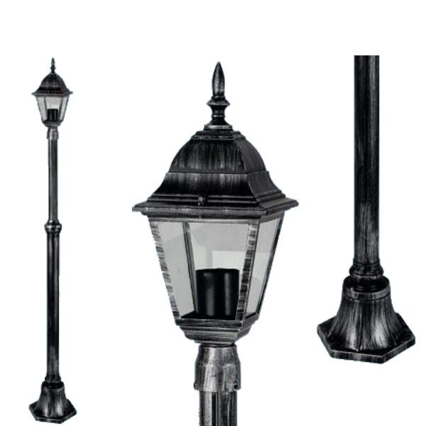 """Lampione """"Arkadia"""" 1 luce su palo"""