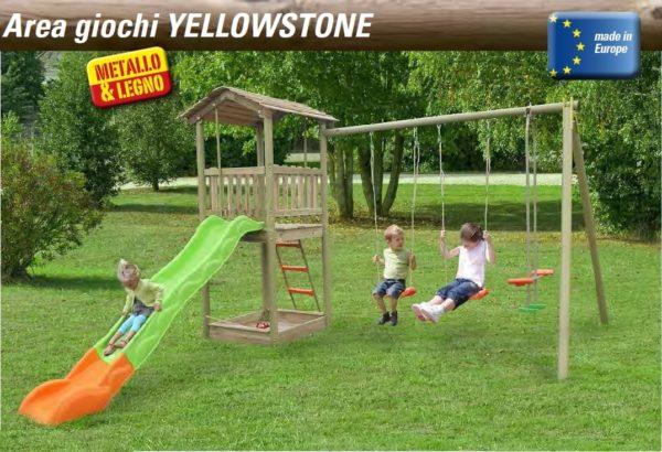 Area giochi newplast Yellowstone