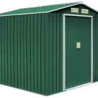 Garden cottage metalgreen L340