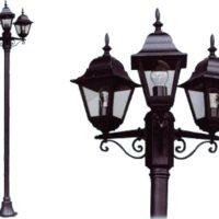 Lampione vienna 3 luci