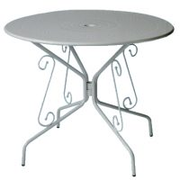 tavolo bistrot costiera acciaio
