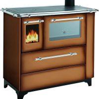"""Cucina a legna Royal modello """"Betty 4,5"""" marrone sfumato"""