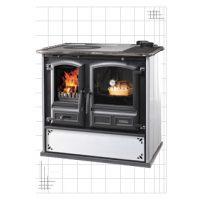 Cucina a legna Dal Zotto Regina 631 Steel B.Punt