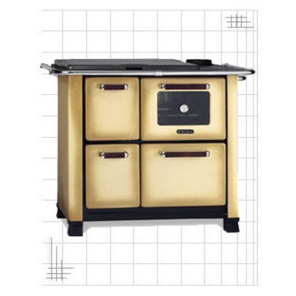 Cucina a legna Dal Zotto classic 350 marrone sfumato