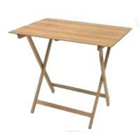 Tavoli pieghevole in legno cm. 60 (L) x 80 (P) x 75 (A)