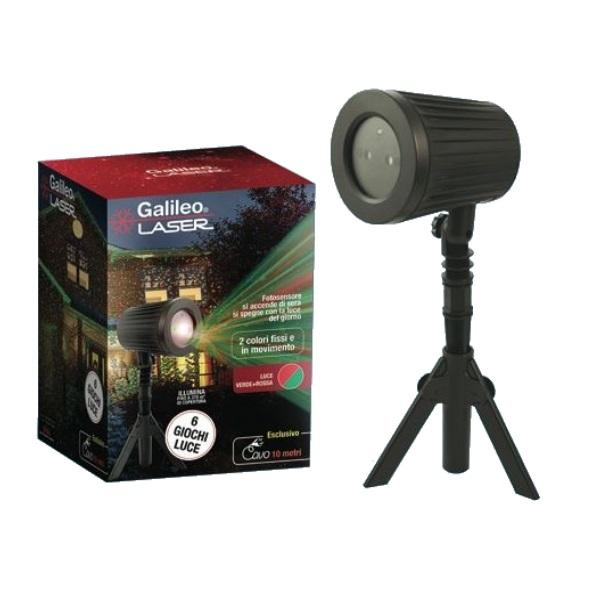 Proiettoere laser Plus luci natalizie 6 giochi di luce da esterno