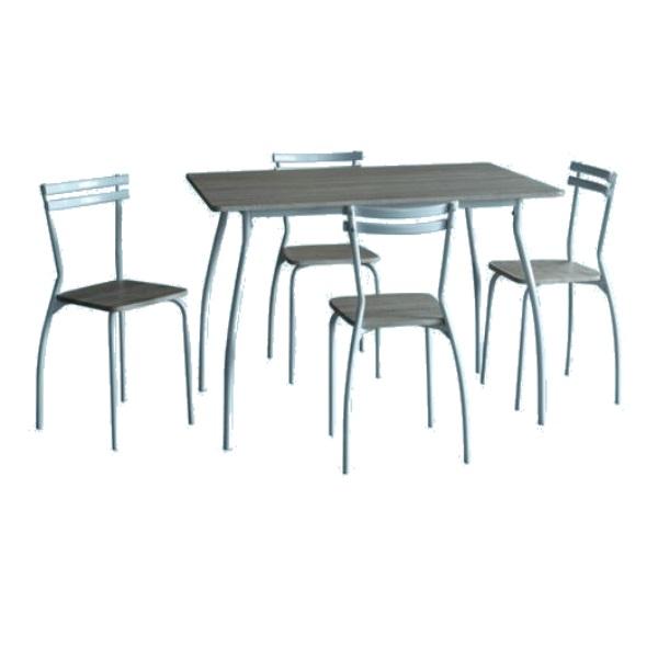 Tavolo con sedie arka ferramenta centro italia for Sedie tinello
