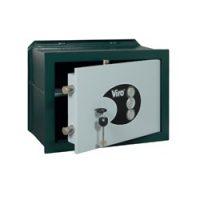 Cassaforte a muro con combinatori meccanici e chiavi modello Privacy versione orizzontale