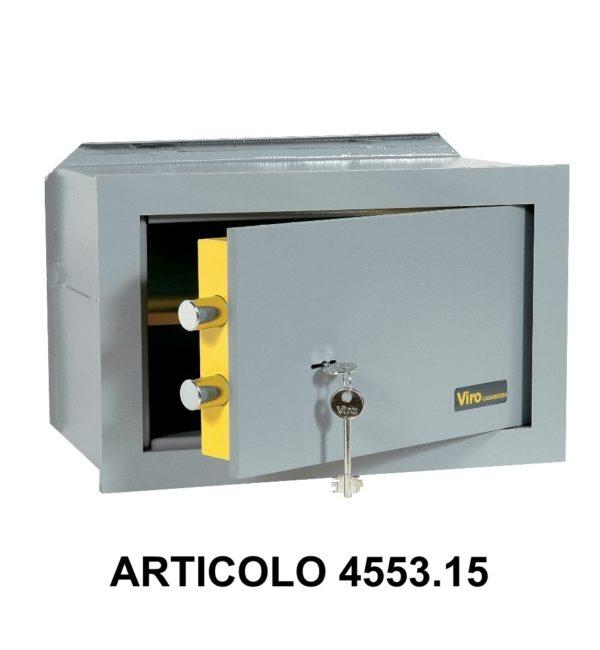 Cassaforte a muro orizzontale con apertura meccanica modello casasicura 455315