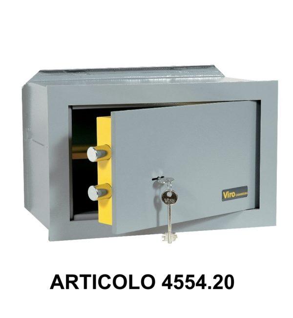 Cassaforte a muro orizzontale con apertura meccanica modello casasicura 455420