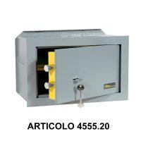 Cassaforte a muro orizzontale con apertura meccanica modello casasicura 4555.20