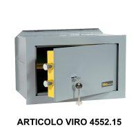 Cassaforte a muro orizzontale con apertura meccanica modello casasicura art 455215