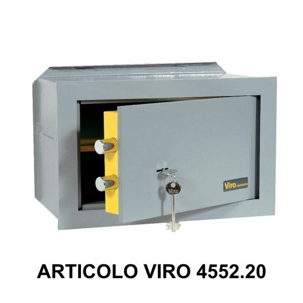 Cassaforte a muro orizzontale con apertura meccanica modello casasicura art 455220