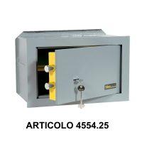 Cassaforte a muro orizzontale con apertura meccanica modello casasicura art 455425