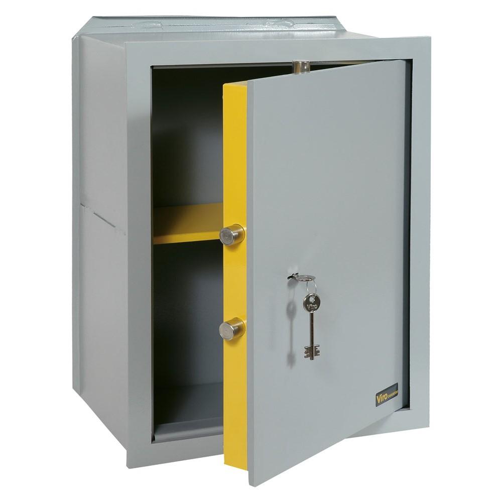 Cassaforte a muro verticale con apertura meccanica modello casasicura 4556.20