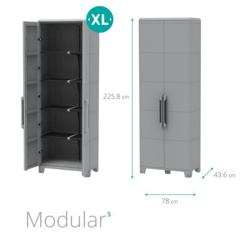 Armadio da esterno transforming modular5 della Terry