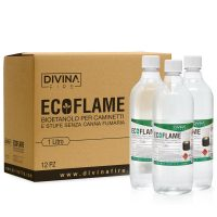 Bioetanolo Ecoflame confezione pezzi 12