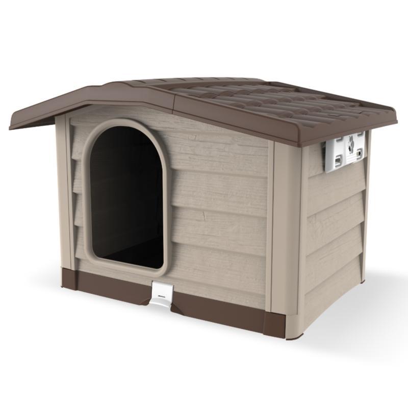 Cuccia per cani di taglia media bungalow by bama for Cucce da interno per cani taglia grande
