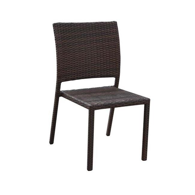 Sedie In Plastica Impilabili Da Giardino.Sedia Da Giardino Impilabili Quarry In Polyrattan Ferramenta
