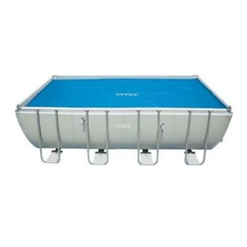 Telo copertura termico piscina rettangolare cm 732 x 366 for Teli invernali per piscine intex