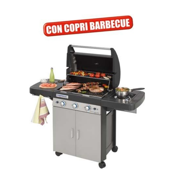 Barbecue a gas 3 series classic ls plus campingaz